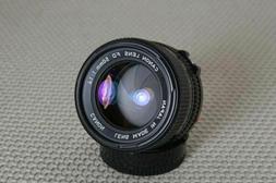 Canon 50mm f/1.4 FD-mount Manual Focus lens, breech or bayon