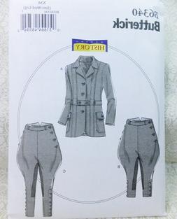Butterick B6340 Suit Pattern Men's' Steampunk Suit Jacket Br