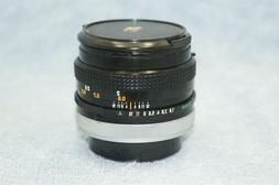 Canon FD 50mm f1.8 S.C. Breech Mount Lens