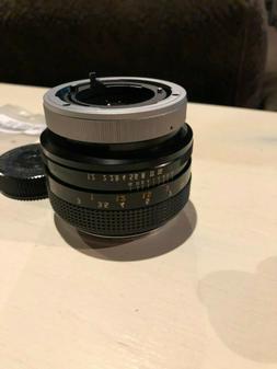 Canon fd 55mm f1.2 Breech Lock *Read Description.