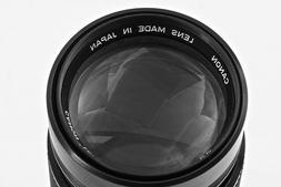 Canon FD Breech Mount 300mm @ f/5.6 Full-frame lens