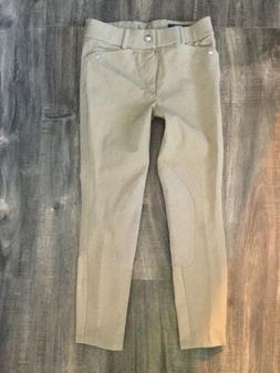 ARIAT Girls Tan Riding Show Pants Breeches Sz 10  Kids
