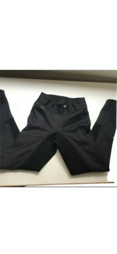 Kerrits XS  Black Full Seat Equestrian Pants Breeches