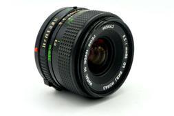 Canon Lens 28mm f/2.8 Manual Focus FD Bayonet or Breech Moun