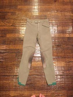 Cavallo Tan breeches size 26L