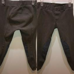 Horze Womens Size 28 Taupe Equestrian Horse Riding Breeches